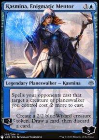Kasmina, Enigmatic Mentor - The List