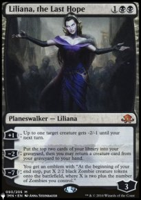 Liliana, the Last Hope - The List