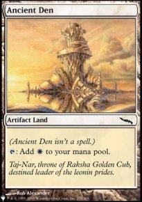 Ancient Den - The List