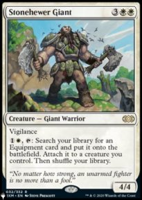 Stonehewer Giant - The List