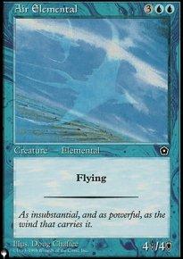 Air Elemental - The List