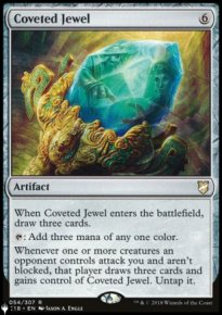 Coveted Jewel - The List