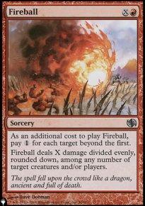 Fireball - The List
