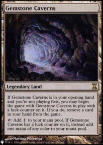 Gemstone Caverns - The List