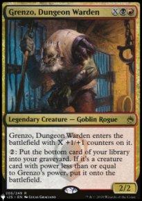 Grenzo, Dungeon Warden - The List
