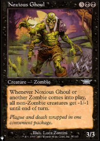 Noxious Ghoul - The List
