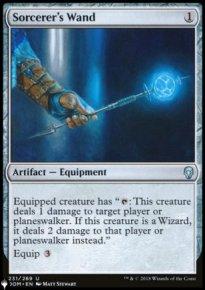 Sorcerer's Wand - The List