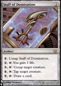Staff of Domination - The List