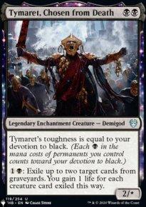 Tymaret, Chosen from Death - The List
