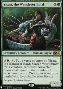 Yisan, the Wanderer Bard - The List