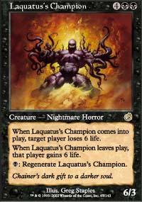 Laquatus's Champion - Torment