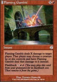 Flaming Gambit - Torment