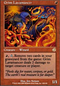 Grim Lavamancer - Torment