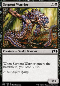 Serpent Warrior - Tempest Remastered