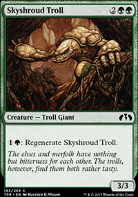 Skyshroud Troll - Tempest Remastered