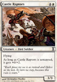 Castle Raptors - Time Spiral