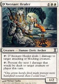 D'Avenant Healer - Time Spiral
