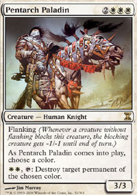 Pentarch Paladin - Time Spiral