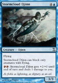 Stormcloud Djinn - Time Spiral