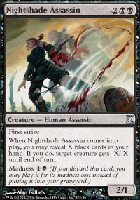 Nightshade Assassin - Time Spiral