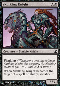 Skulking Knight - Time Spiral