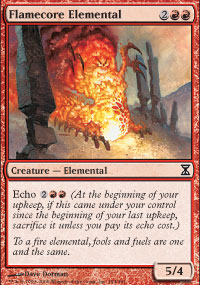 Flamecore Elemental - Time Spiral