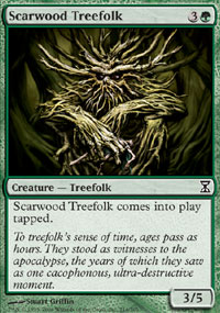 Scarwood Treefolk - Time Spiral