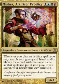 Mishra, Artificer Prodigy - Time Spiral