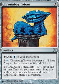 Chronatog Totem - Time Spiral