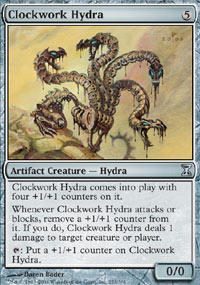 Clockwork Hydra - Time Spiral