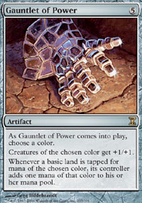 Gauntlet of Power - Time Spiral