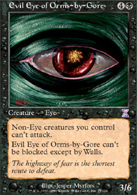 Evil Eye of Orms-by-Gore - Time Spiral