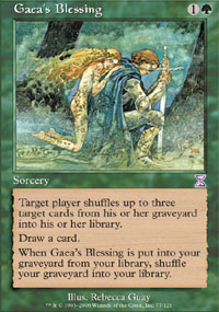 Gaea's Blessing - Time Spiral