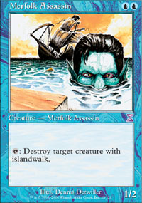 Merfolk Assassin - Time Spiral