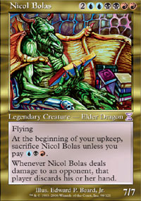Nicol Bolas - Time Spiral