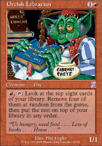 Orcish Librarian - Time Spiral