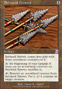 Serrated Arrows - Time Spiral