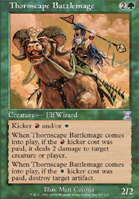 Thornscape Battlemage - Time Spiral