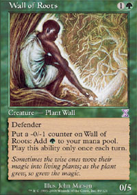 Wall of Roots - Time Spiral