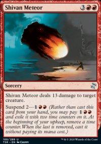 Shivan Meteor - Time Spiral Remastered