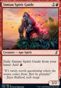 Simian Spirit Guide - Time Spiral Remastered
