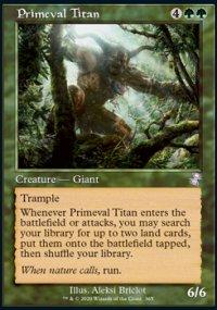 Primeval Titan - Time Spiral Remastered