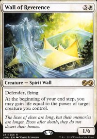 Wall of Reverence - Ultimate Masters