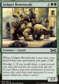 Golgari Brownscale -