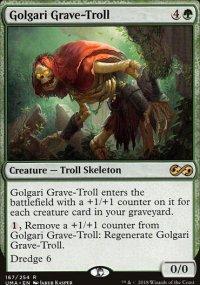 Golgari Grave-Troll - Ultimate Masters