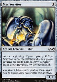 Myr Servitor - Ultimate Masters