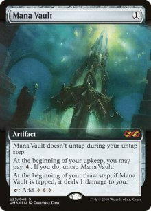 Mana Vault - Ultimate Box Topper