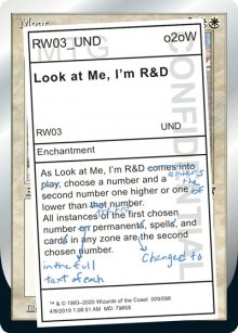 Look at Me, I'm R&D - Unsanctioned