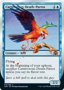 Carnivorous Death-Parrot -