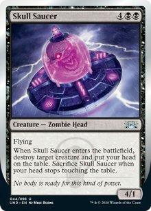 Skull Saucer -